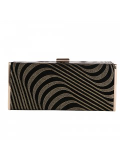 H0832A BLACK  GOLD EVENING BAG Please Click the image for more information.