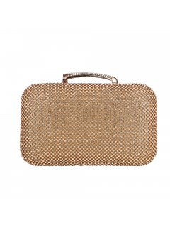 H0837B GOLD DIAMONTE EVENING BAG Please Click the image for more information.
