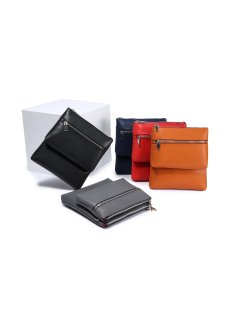 H0821B RED LEATHER DOUBLE COMPARTMENT TRAVEL BAG Please Click the image for more information.