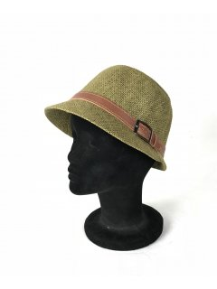 HA0279C THIS IS A GORGEOUS STRAW NARROW BRIMMED HAT WITH A BROWN BELTED FEATURE THIS STYLE IS AVAILABLE IN 6 COLOURS RED PINK KHAKI LIME AND TAUPE. Please Click the image for more information.