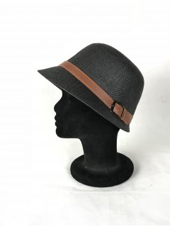 HA0279E THIS IS A GORGEOUS STRAW NARROW BRIMMED HAT WITH A BROWN BELTED FEATURE THIS STYLE IS AVAILABLE IN 6 COLOURS RED PINK KHAKI LIME AND TAUPE. Please Click the image for more information.