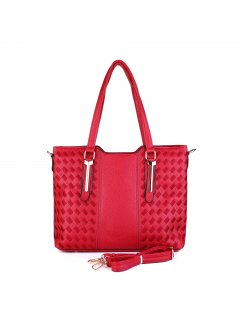 H0853A A Medium size tote with embroidered stitch detail  Please Click the image for more information.
