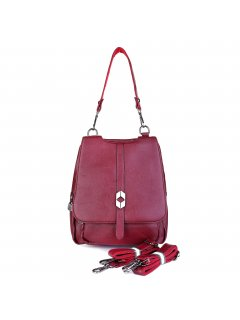 H0854B A fabulous sleek Backpack that can be converted to a shoulder bag Bag is provided with 3 straps Inside has space to keep mini iPad. Please Click the image for more information.