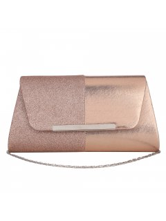 H0869A GOLDROSE GOLD 2 TONE EVENING BAG Please Click the image for more information.