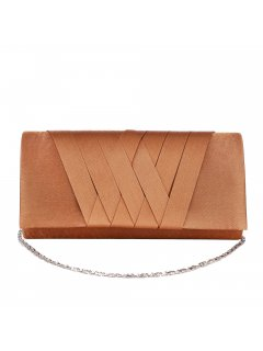 H0866C GOLD EVENING BAG WITH CRISSCROSS PATTERN Please Click the image for more information.
