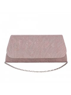 H0857C BLUSH CINCHED EVENING BAG Please Click the image for more information.