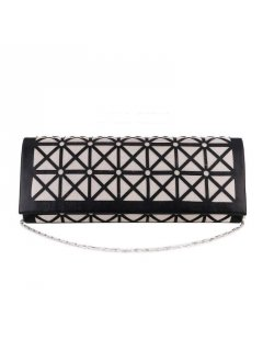 H0868 BLACK CUTOUT EVENING BAG Please Click the image for more information.