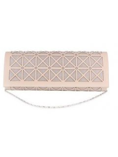 H0868A NUDE CUTOUT EVENING BAG Please Click the image for more information.