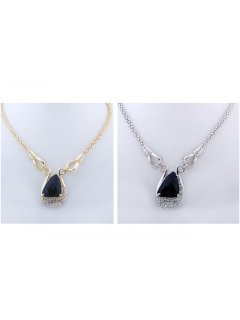 10062 This necklace is available in gold or silver We have earrings to match Please Click the image for more information.