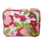 Cosmetic Box Bag /Hanger Tea Party This super stylish waterproof cosmetic bag folds our to reveal a hanger for hanging on the back of a door and 2 large compartments that fit your hair products make up travel products etc Th. Please Click the image for more information.