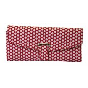 Jewellery Wallet Red Dots This all purpose jewellery wallet is extremely practical as well as being very stylish Inside there is a large zip pocket for large pieces . Please Click the image for more information.