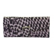 Jewellery Wallet Leopard This all purpose jewellery wallet is extremely practical as well as being very stylish Inside there is a large zip pocket for large pieces . Please Click the image for more information.