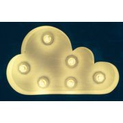 "Vintage Marquee Cloud 15"" Vintage Marquee Letter Lights come in any number letter or symbol and in a variety of colours They look great in childrens bedrooms or as an art piece for your home Gl. Please Click the image for more information."