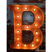 Vintage Marquee Lights Orrange B  Please Click the image for more information.