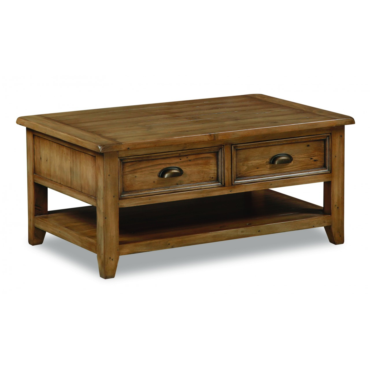 Tigress direct furniture and homewares Pine coffee table with drawers