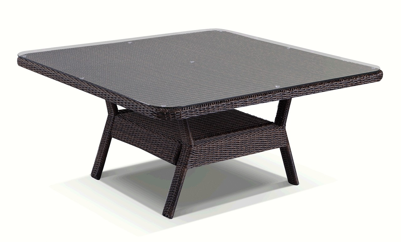 Tigress direct furniture and homewares for Outdoor dining table glass top