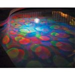 Underwater Disco Light This Underwater Disco Light Show floats on top of your pool bath or spa and creates an amazing under water light show . Please Click the image for more information.