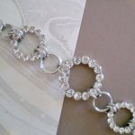 Silver Bracelet with Crystal   A beautiful silver bracelet with crystal to sparkle up your day or evening outfit Please Click the image for more information.