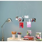 Hanging Photoclip Mobile This hanging photoclip mobile holds as many as 20 photos The clips allow different size photos to be displayedG. Please Click the image for more information.