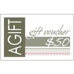 $50 Gift Certificate Now they can have their gift and choose it tooWith a lovely range of gifts to choose from  at AGIFT let them enjoy selecting their favourite  Spoil. Please Click the image for more information.