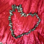 Black Mother of Pearl Shell Necklace In the game of love not all hearts are created equal In the same way each of these black pearl shells strung together present a stunning variation of dark pearlised colour  The . Please Click the image for more information.