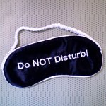 Eye Mask - Do Not Disturb True relaxationsounds goodGet the rest you want  without having to beg for it This slender eye mask is embroidered with just the right caption  so you wont be interruptedWith its bla. Please Click the image for more information.