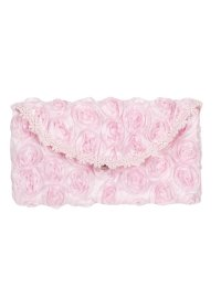 GLASSES CASE PINK GLASSES CASE PINK COVERED IN BEAUTIFUL RIBBON ROSETTESPACKAGED IN CLEAR BOX Please Click the image for more information.