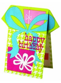 PRESENTS NAPKIN PRESENTS STANDING BIRTHDAY NAPKIN Please Click the image for more information.