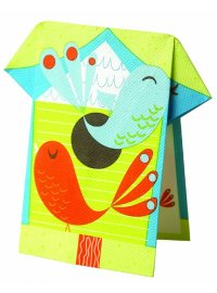 TWEET NAPKIN TWEET BRIGHT STANDING NAPKIN WITH BIRDSBOX 16 Please Click the image for more information.