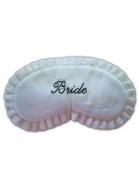 EYEMASK BRIDE SILK CREAM AND BLACK BRIDE EYEMASK Please Click the image for more information.
