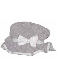 Grey & White floral shower cap Grey and white floral Shower Cap Please Click the image for more information.