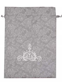 GREY FLORAL LINGERIE BAG GREY FLORAL LINGERIE BAG WITH EMBROIDERY Please Click the image for more information.