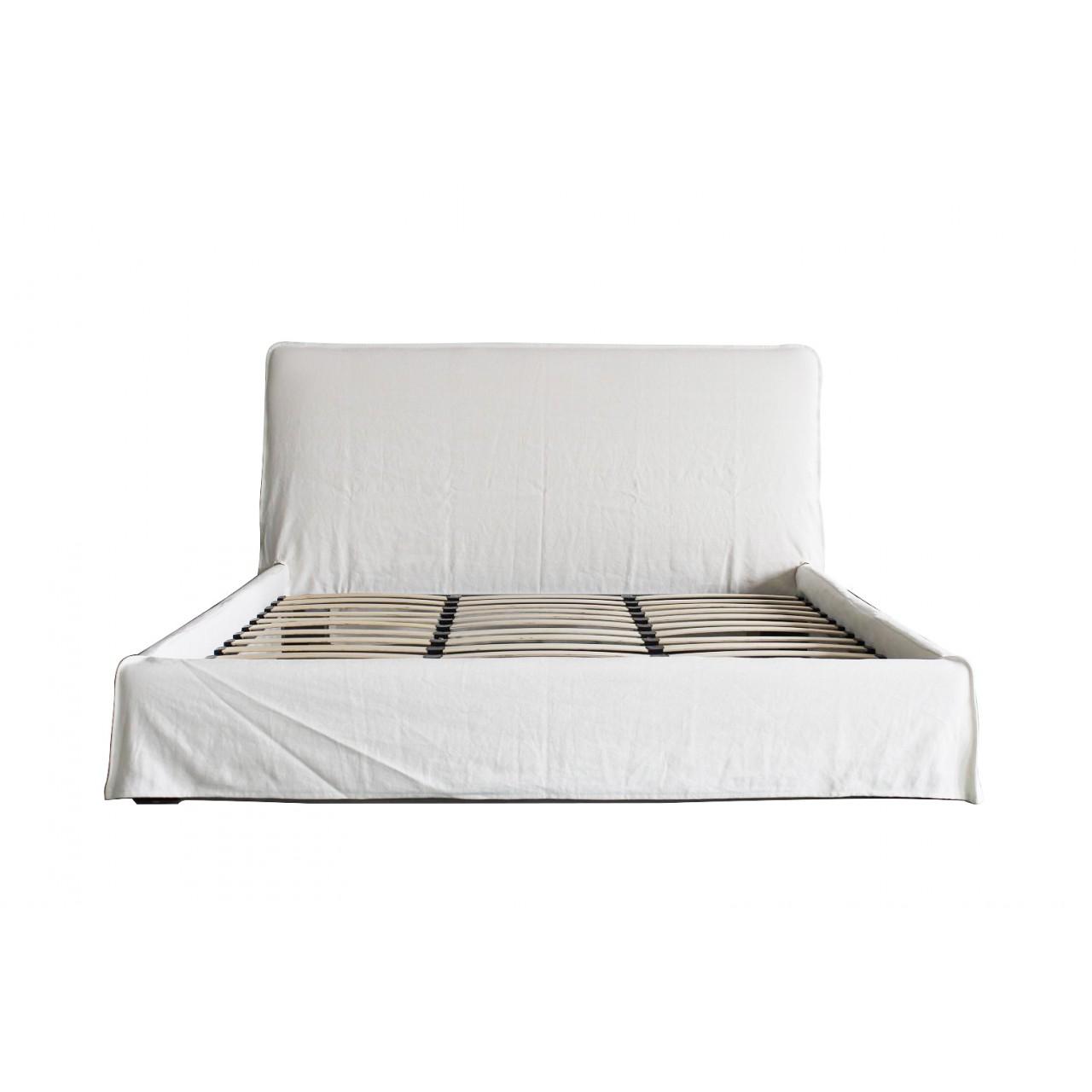 casper bed ivory