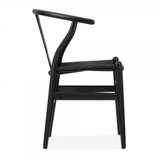 Wishbone Chair Black. Click Any Image Below To Enlarge