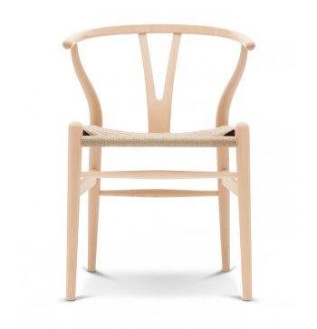 Beau Wishbone Chair Natural