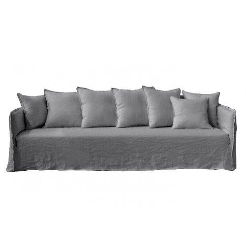 Casper Sofa Grey Linen