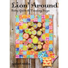 Valori Wells Lion Around Sewing Card A gorgeous baby quilt and tossing bags both in a simple sewing card format There is nothing more fun for children than tossing bean bags  Please Click the image for more information.