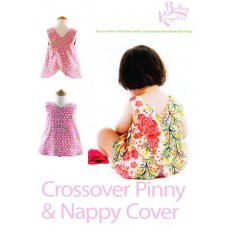Bettsy Kingston Pinny and Nappy Cover A cute and easy to make classic crossover pinny and pants  Instructions for a reversible pinny from 0  24 months  . Please Click the image for more information.