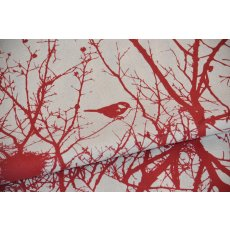 Kristen Doran Winter Nest Red Wide Width  Inspired by a birds nest in a neighbourhood tree Kristen Doran designed this exquisite Winter Nest L. Please Click the image for more information.