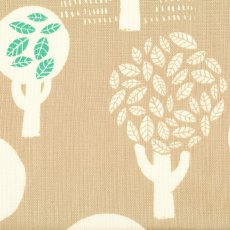 Trees of Leaves on Beige Beautiful contemporary fabric design of trees filled with leaves printed on a beautiful medium weight open weave textured cotton Th. Please Click the image for more information.