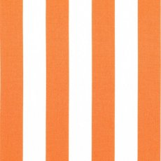 Remnant - Bekko Stripe Wide Width Tangerine Bekko Stripe is a 2cm wide stripe printed on a lovely medium weight 100 cotton sateen Suitable for a variety of home decorating projects but also a lovely weight for linen quilting bag making and apparel. Please Click the image for more information.