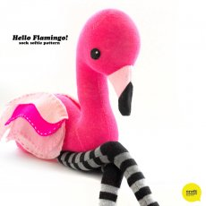 Craft Schmaft Hello Flamingo Pattern Follow this beautifully packaged pattern to create your own beautiful flamingo sock softiePattern includes complete instructions diagrams and material listPatter. Please Click the image for more information.