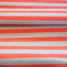 Fluoro Stripe Orange Medium home decorating weight fluoro striped fabric perfect for cushions napery table runners quilts lampshades etc. Please Click the image for more information.
