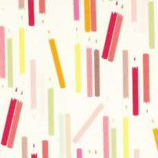 Alexander Henry My Pencils Natural Alexander Henry My Pencils is a fun childrens fabric featuring scattered coloured pencils This design would look fabulous made up into a cushion or lampshade for a childs bedroom. Please Click the image for more information.