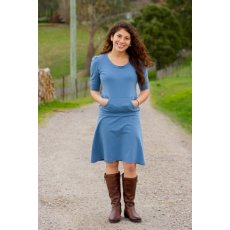 Make It Perfect Skippy The Skippy dress is a fabulously flattering and extremely comfortable everyday dress designed to be made with your favourite stretchy knit fabric. Please Click the image for more information.