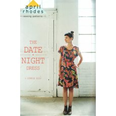 April Rhodes The Date Night Dress THE DATE NIGHT DRESS is an effortless garment with subtle drama The flutter sleeves flatter arms and the open armhole can be slightly sultry offering a teasing peek at the Simple Slip or perhaps a lacy bra underneath T. Please Click the image for more information.