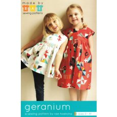 Made by Rae Geranium Made by Rae Geranium Dress  Top Sewing Pattern designed by Rae HoekstraThe Geranium Dress is a sweet and incredibly versatile dress pattern that includes two views View . Please Click the image for more information.
