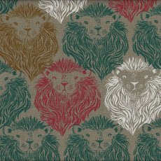 Cotton + Steel August Lions Multi on Natural  Please Click the image for more information.