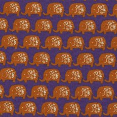Elephant Orange on Purple A favourite with the kids this elephant fabric would make adorable cushions wall art linen and lampshades for a nursery or bedroom Al. Please Click the image for more information.