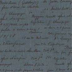 La Couture Script Blue This 100 linen fabric design works well with the French Provincial theme with its script writing Please Click the image for more information.
